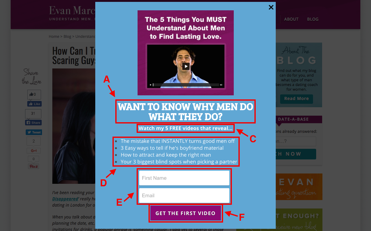 How to grow your email list with a pop-up